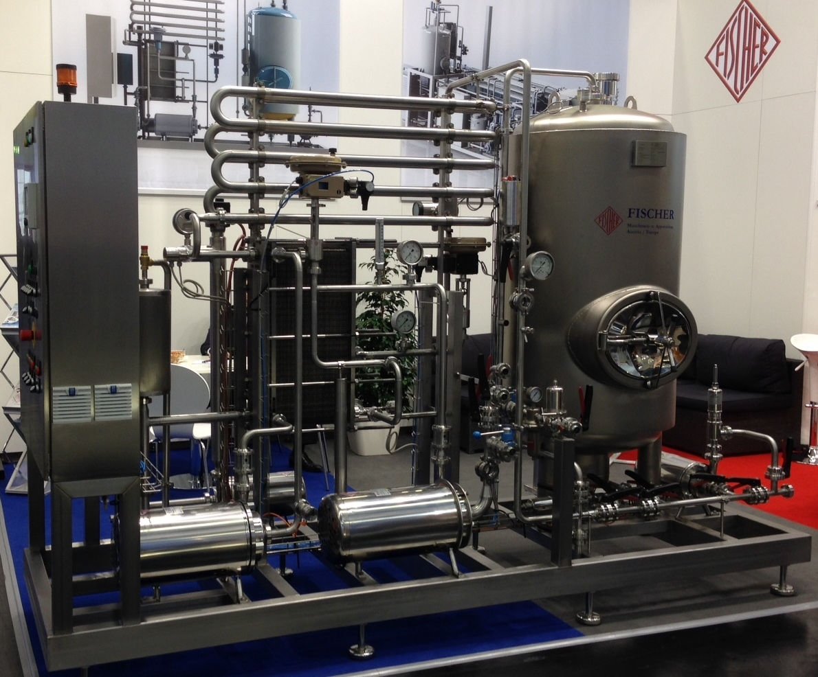 Micro-brewery-pasteuriser